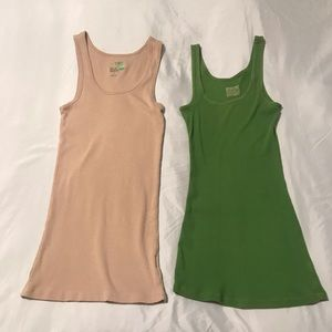 2 Tank tops Mossimo/Old Navy